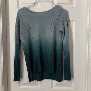 American eagle women's hombre sweater